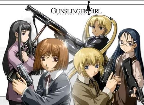 Gunslinger Girl смотреть онлайн