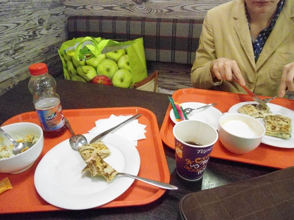 Завтрак в Теремке