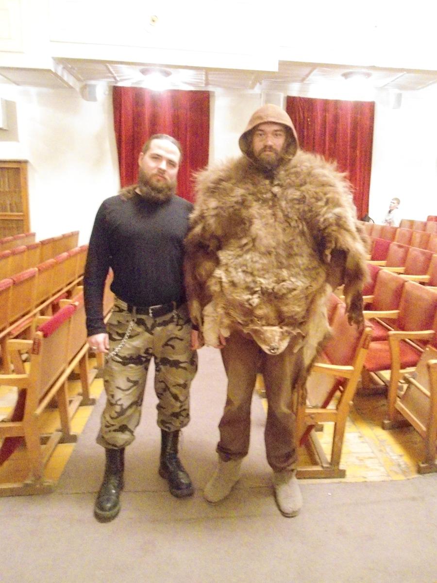 Большой Человек и Медведь